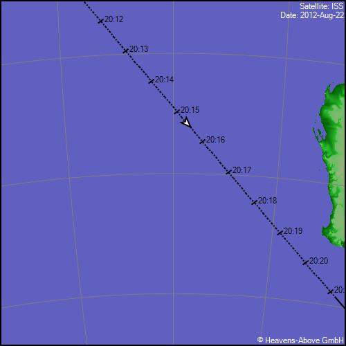 Passage ISS PassGTrackLargeGraphic.aspx?satid=25544&date=56161