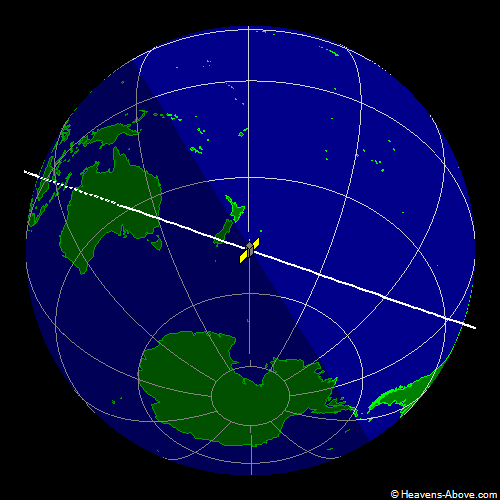 国际空间站实时位置