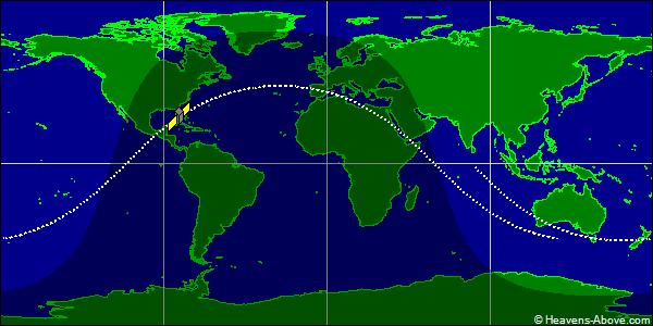 Tiangong Orbit - Orbit tracker