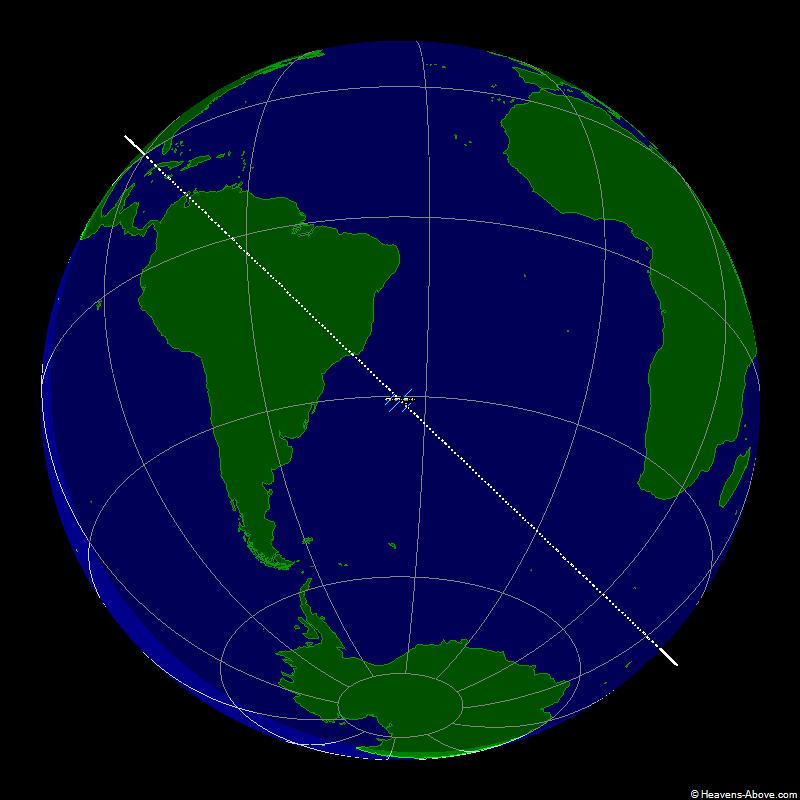 Het ISS op dit ogenblik
