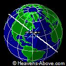 Posizione corrente dell'ISS