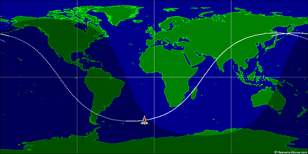 space shuttle orbital tracking - photo #5