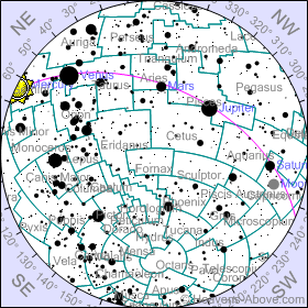 Mapa Celeste
