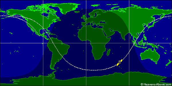ESV Ground Trace