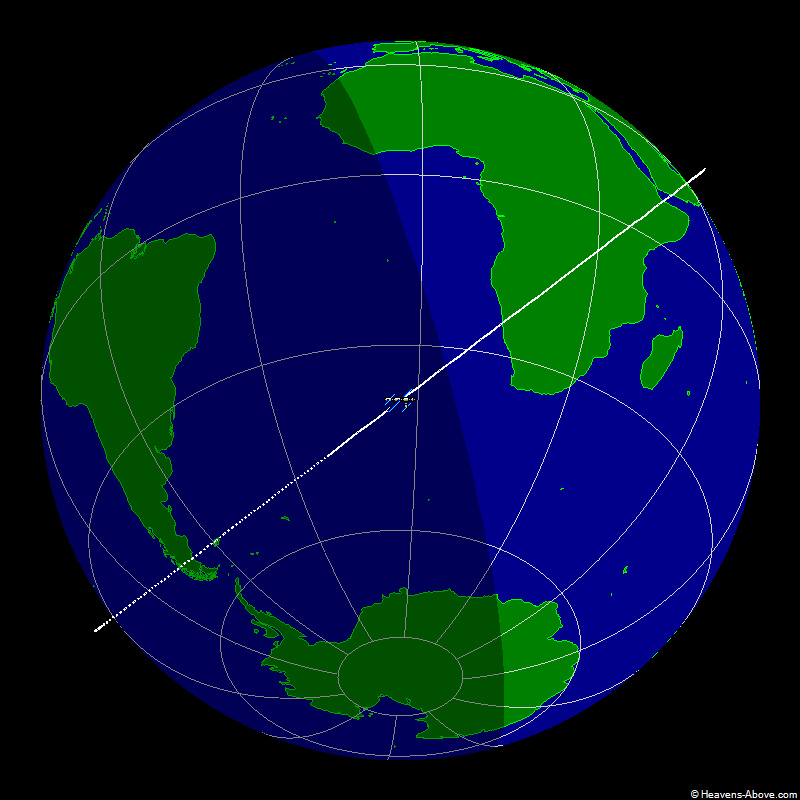 Aktuelle ISS Position