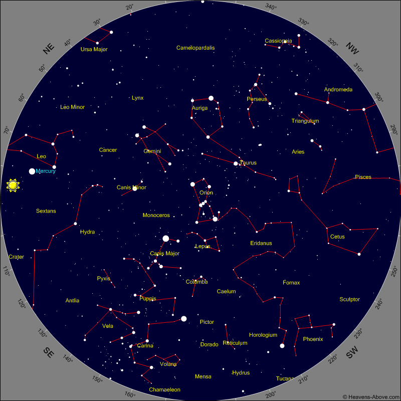 Sky Chart Old Version - Star map generator